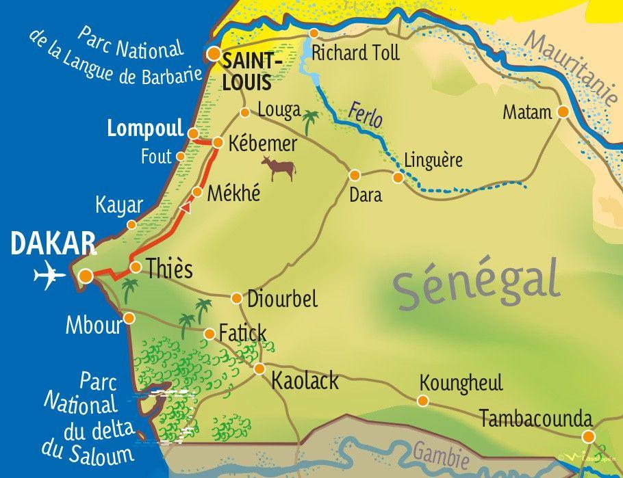 [KEY_MAP] - SENEGAL - Immersion solidaire au Sénégal