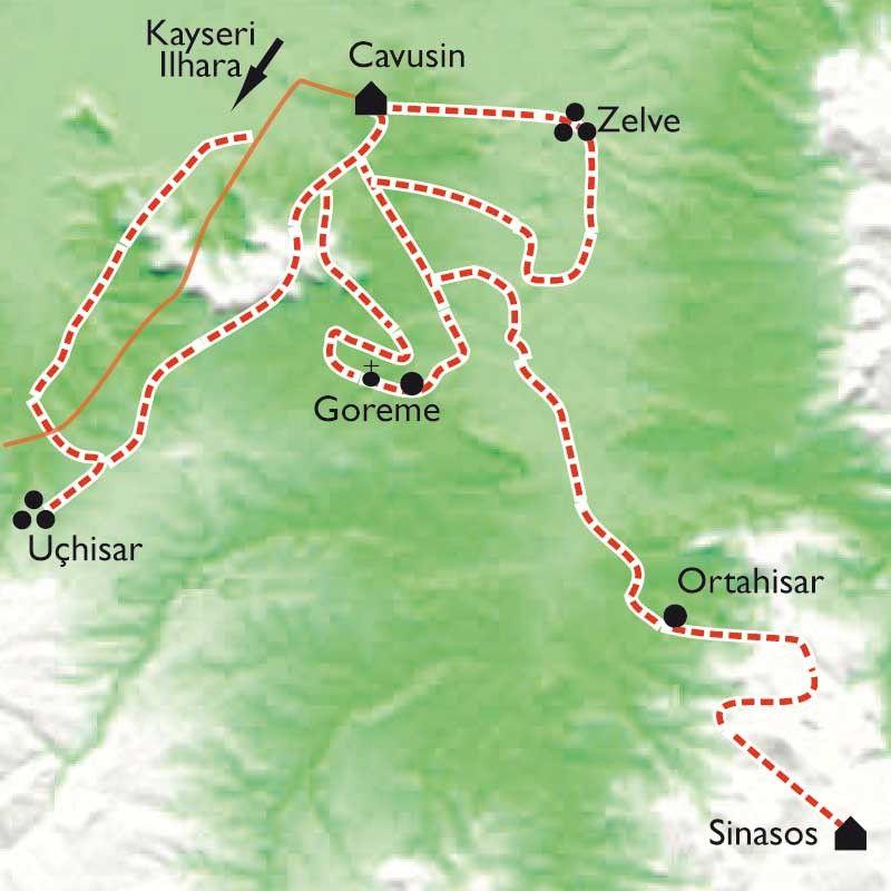 [KEY_MAP] - Turquie - Sentiers de Cappadoce