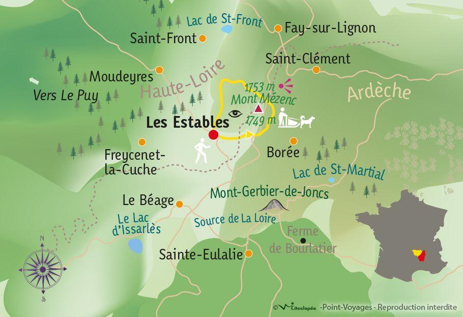 [KEY_MAP] - France - Ambiance nordique & découverte du chien de traîneau