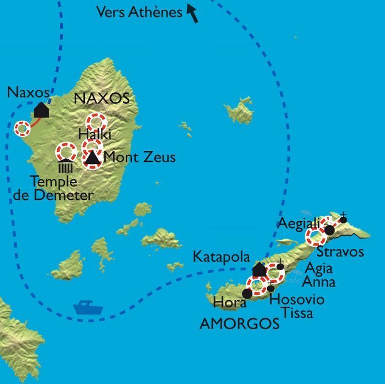 [KEY_MAP] - Grèce - Les Cyclades - Amorgos et Naxos