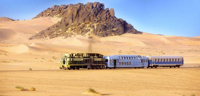 Mauritanie Le Train Du D 233 Sert