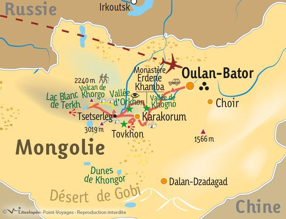 [KEY_MAP] - Mongolie - Au cœur de la vie nomade