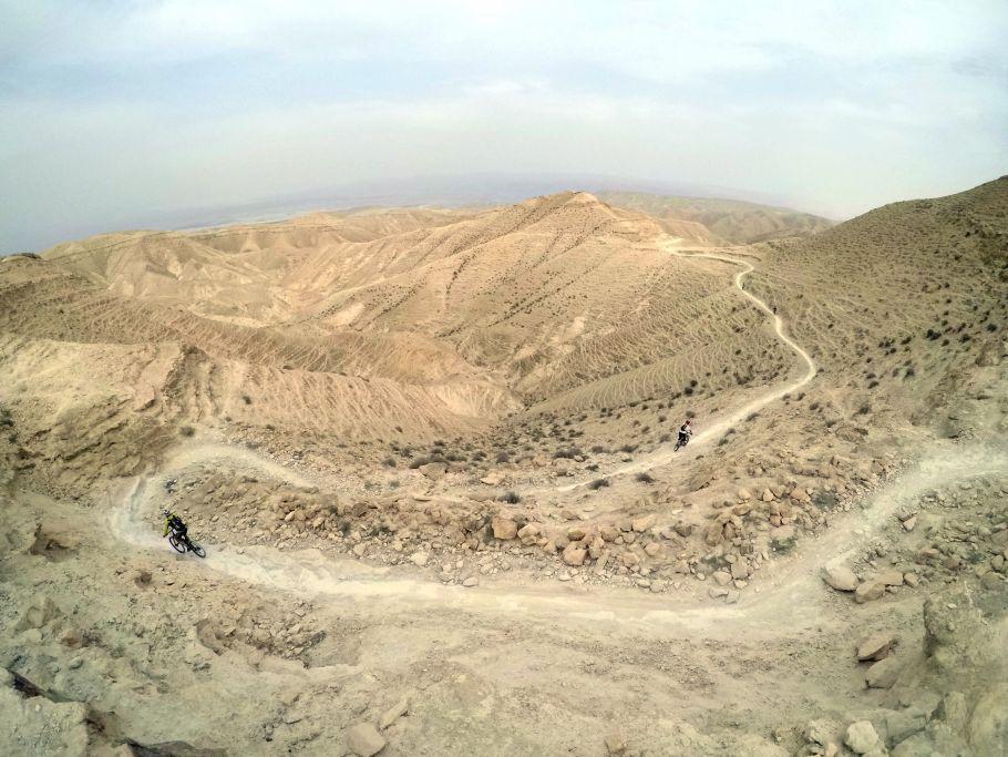 Palestine – Le Sentier d'Abraham en VTT © Alaa Hammouz