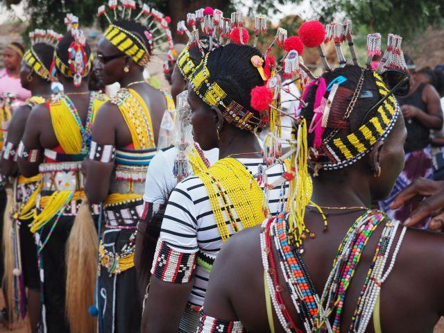 Sénégal - Pays Bassari - village d'Ethiolo - cérémonie des masques © Kévin Girard