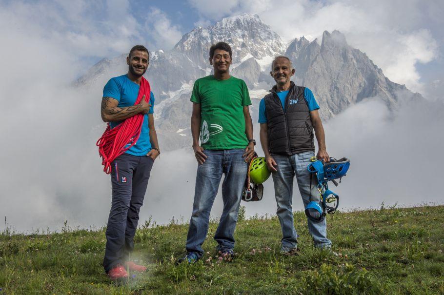 Tahar Manaï – Pasang Nuru Sherpa – Marc Batard ©Pascal Tournaire