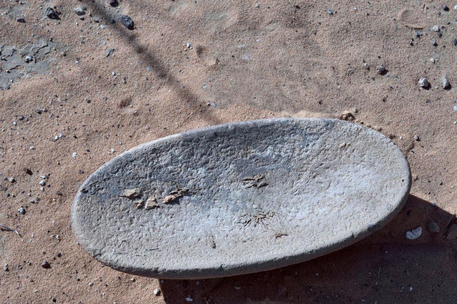 Tchad - Ennedi - Matériel archéologique © Yves Gauthier