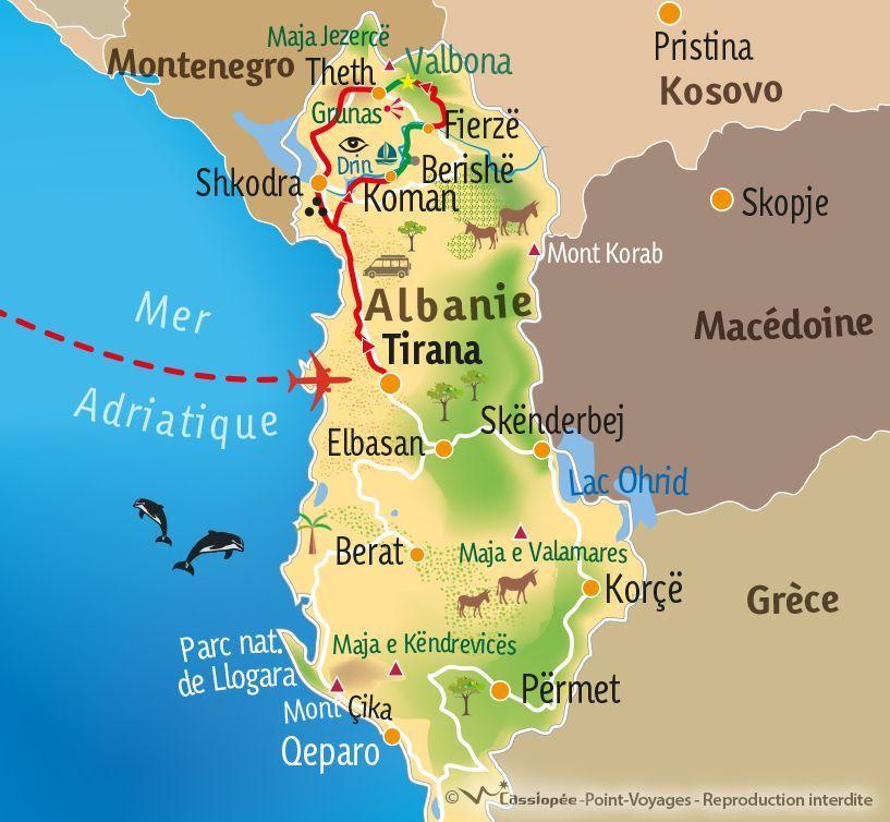 [KEY_MAP] - ALBANIE - Au cœur des Alpes Albanaises