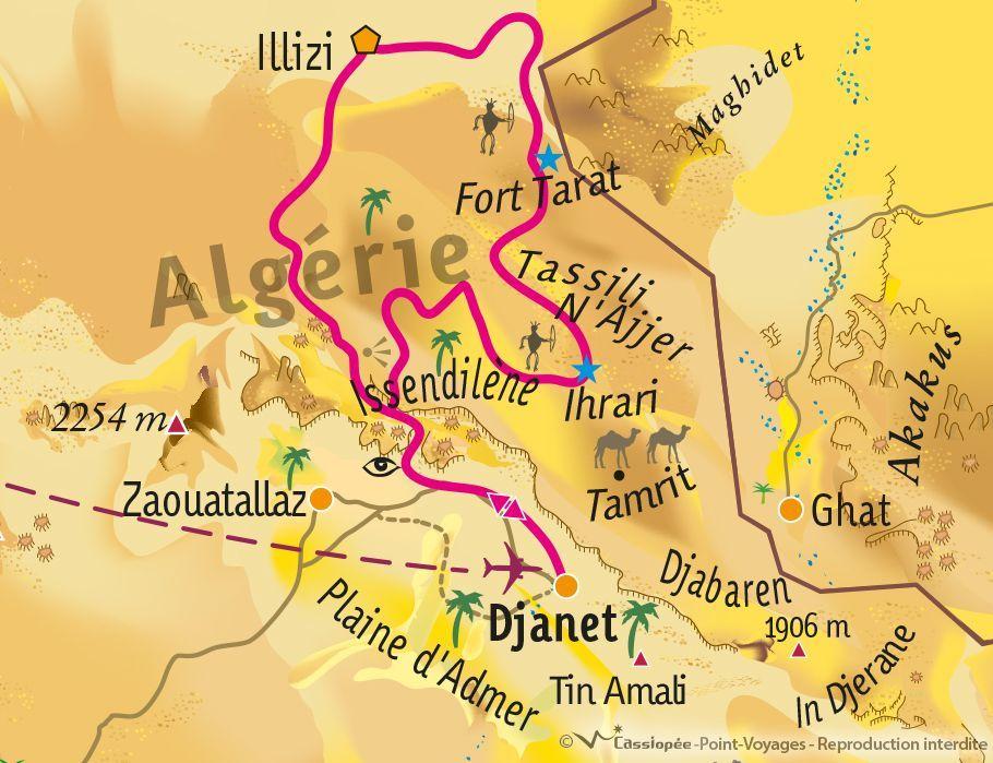 [KEY_MAP] - Algérie - Exploration rupestre en Algérie