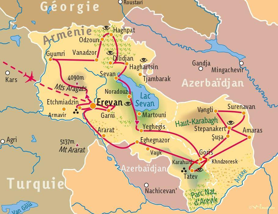 [KEY_MAP] - ARMENIE - Arménie et Haut Karabagh