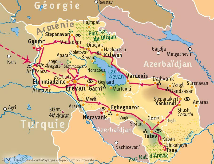 [KEY_MAP] - Arménie - Mieux comprendre l'Arménie