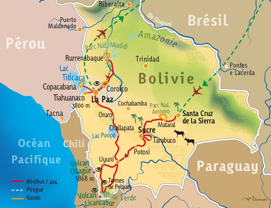 [KEY_MAP] - BOLIVIE - Grand tour de Bolivie