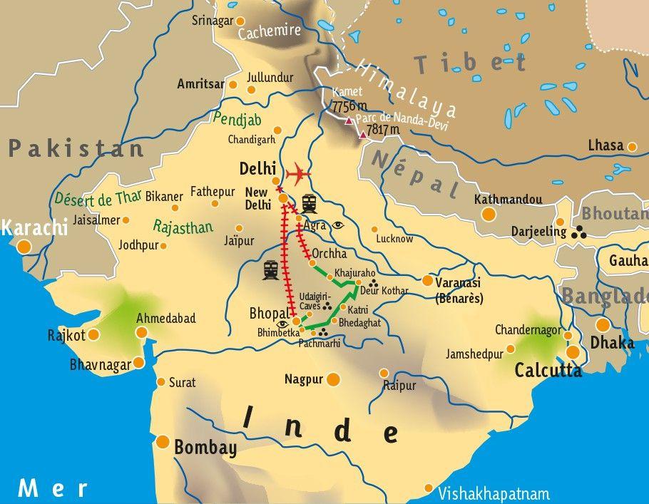 [KEY_MAP] - INDE - Mieux comprendre l'Art Rupestre en Inde