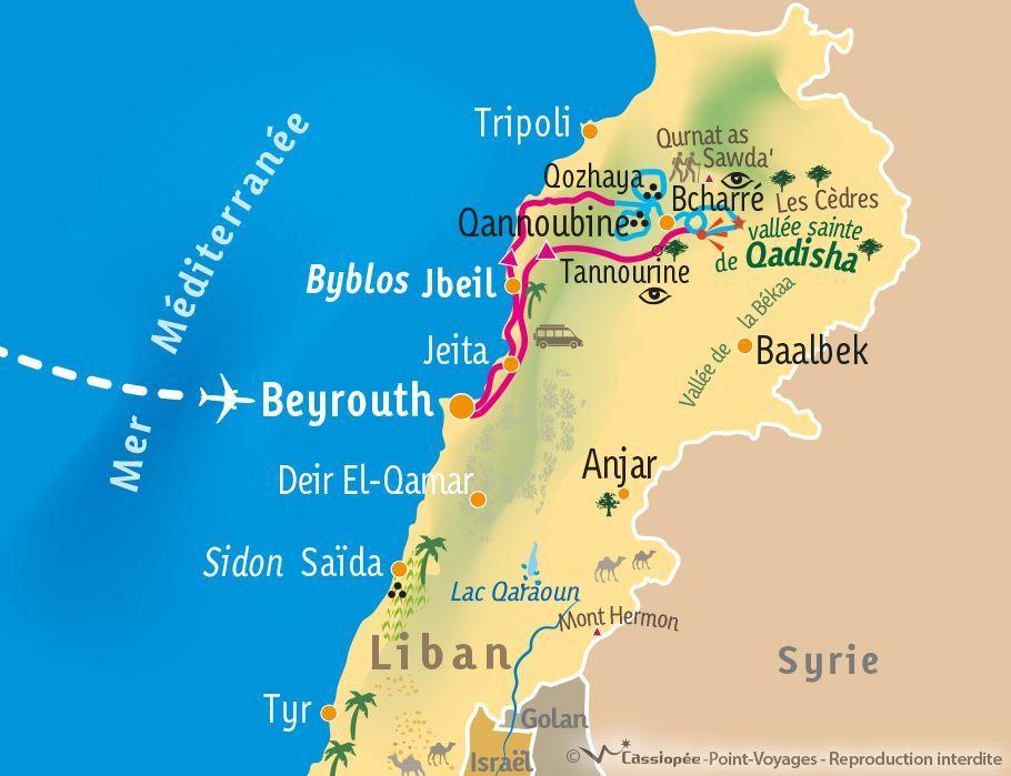 [KEY_MAP] - Liban - Immersion dans la vallée sainte de Qadisha