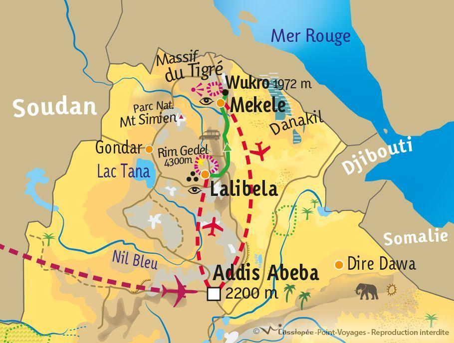 [KEY_MAP] - Ethiopie - Trek communautaire des hauts plateaux