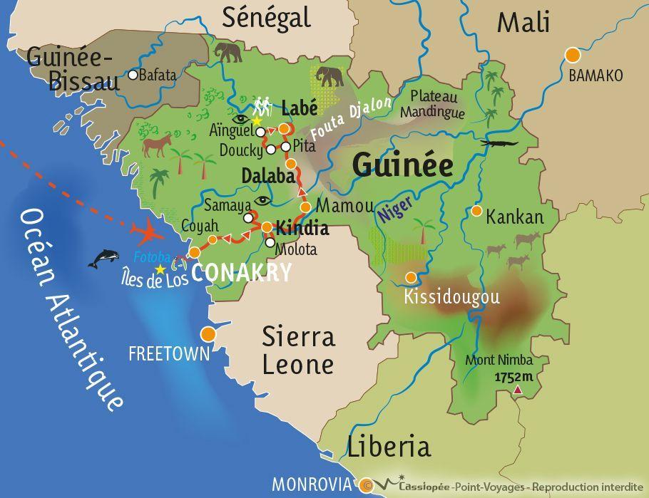 [KEY_MAP] - Guinée - Rencontres et solidarité en pays Soussou