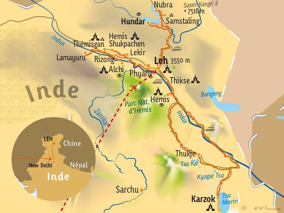 [KEY_MAP] - INDE/LADAKH - Kaléidoscope Ladakhi