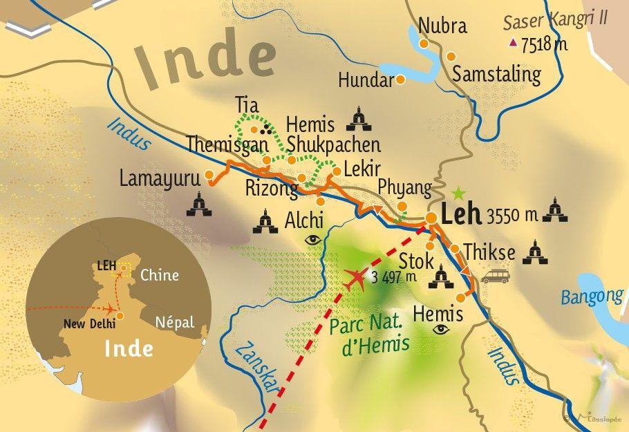 [KEY_MAP] - INDE/LADAKH - à la rencontre du ladakh