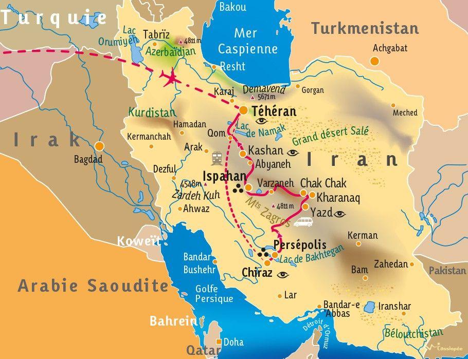 [KEY_MAP] - IRAN - L'Iran Moderne et la Perse Antique
