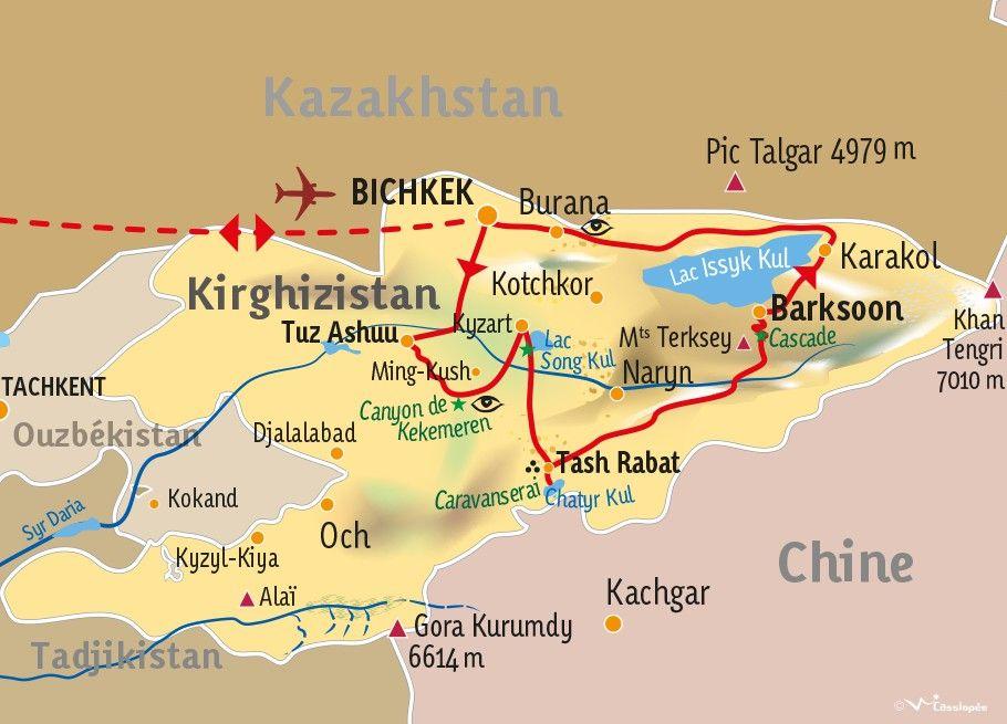 [KEY_MAP] - Kirghizistan - Aventures Kirghizes
