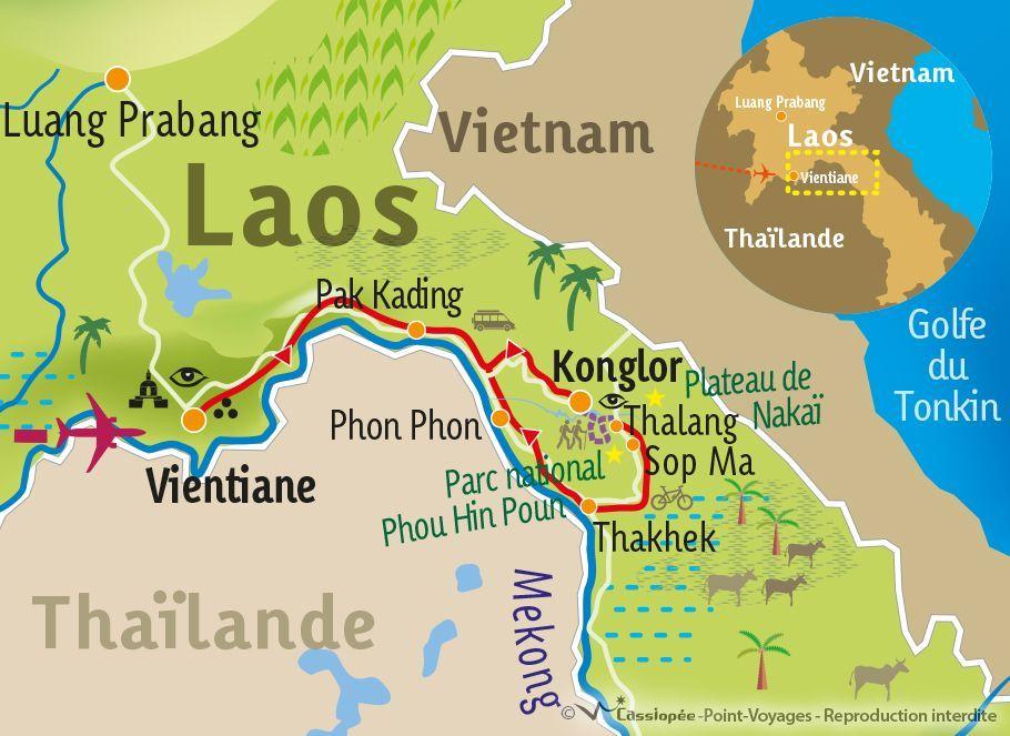 [KEY_MAP] - LAOS - Vallée inconnue et immersion laotienne