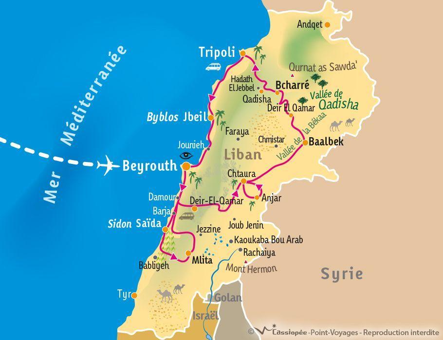 [KEY_MAP] - Liban - Mieux comprendre le Liban