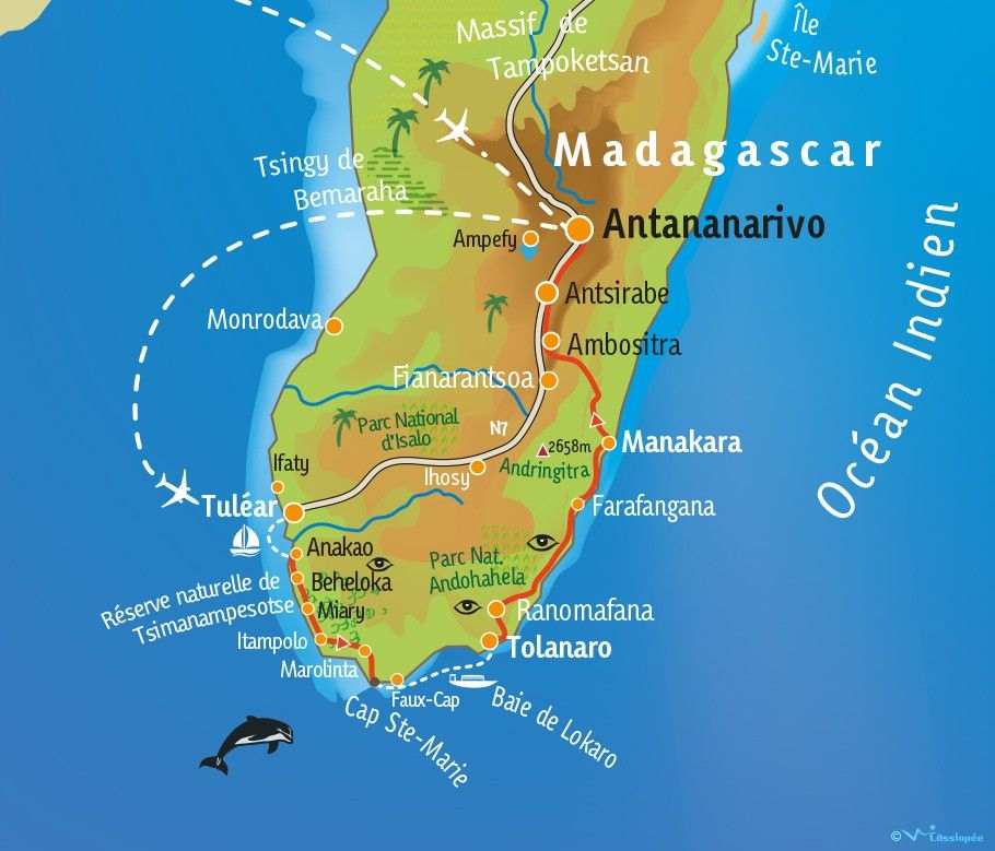 [KEY_MAP] - Madagascar - L'île Rouge : le Grand Sud