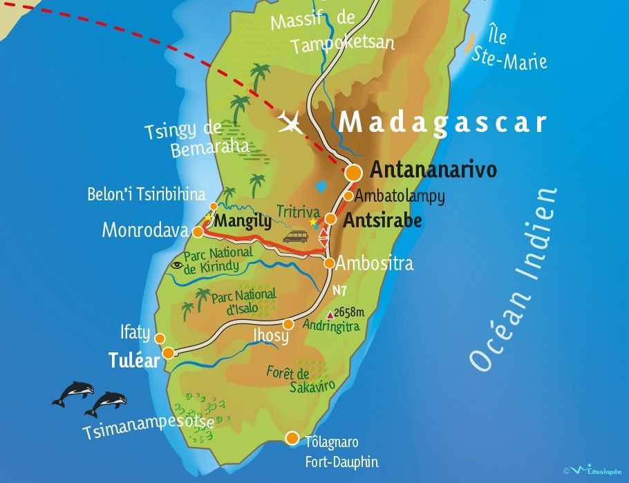[KEY_MAP] - MADAGASCAR - Vivre ensemble à Madagascar en 19 jours