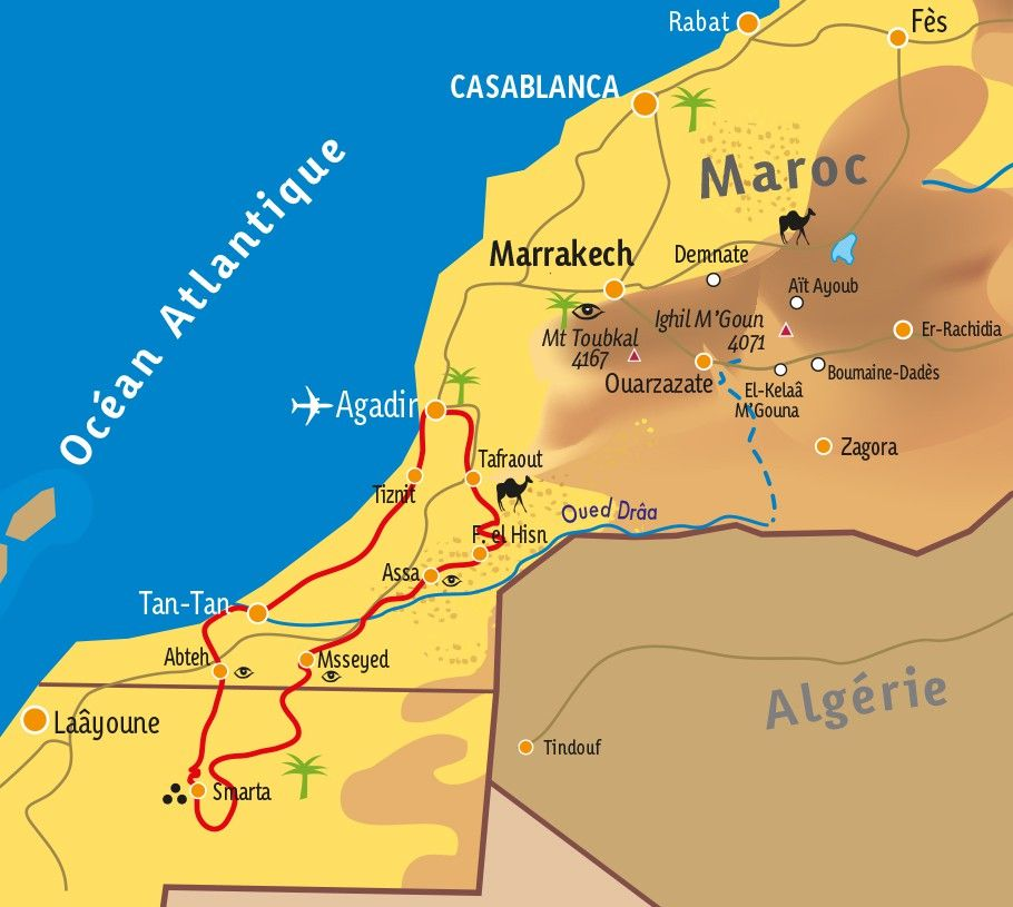 [KEY_MAP] - MAROC - Mieux comprendre l'Art Rupestre au Maroc