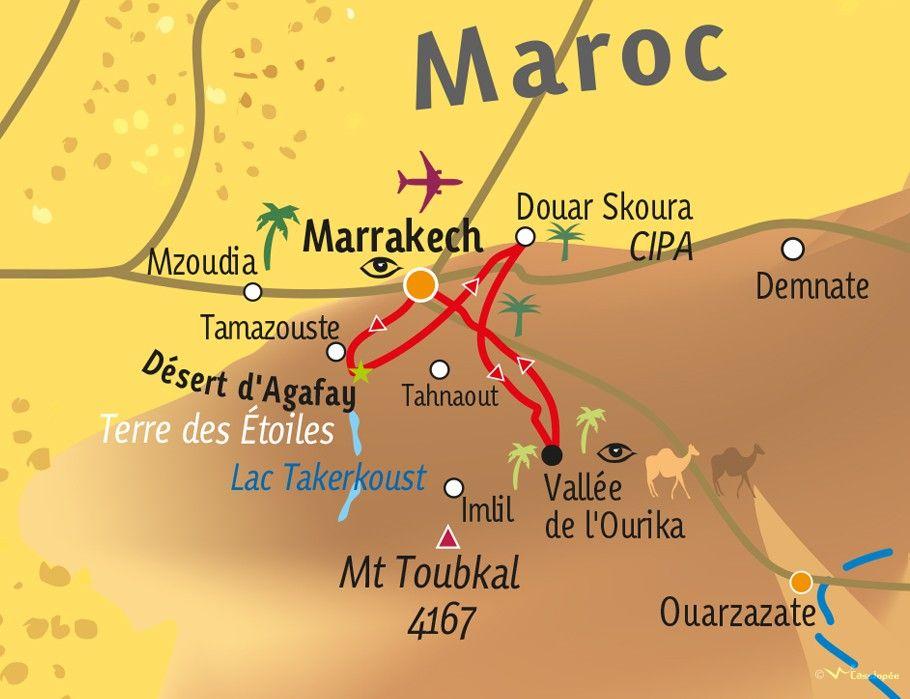 [KEY_MAP] - MAROC - Escapades et Rencontres agroécologiques au Maroc