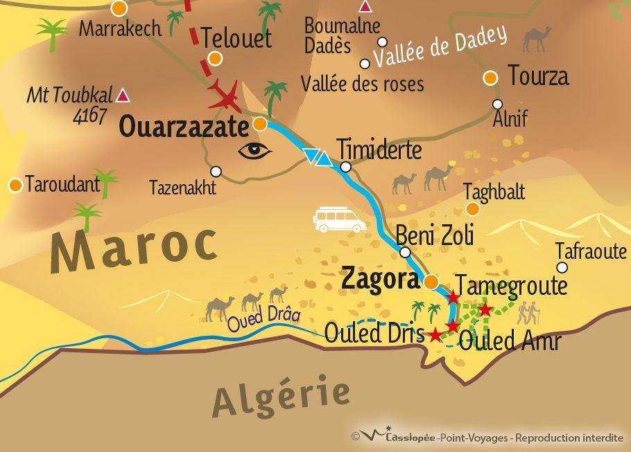 [KEY_MAP] - MAROC - Rando saharienne en campement fixe