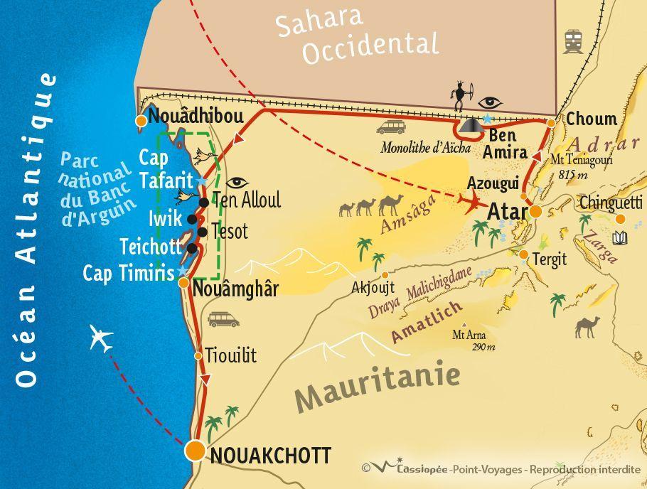 [KEY_MAP] - Mauritanie - Le Banc d'Arguin