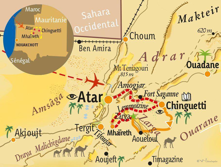 [KEY_MAP] - MAURITANIE - Mieux Comprendre l'écosystème saharien