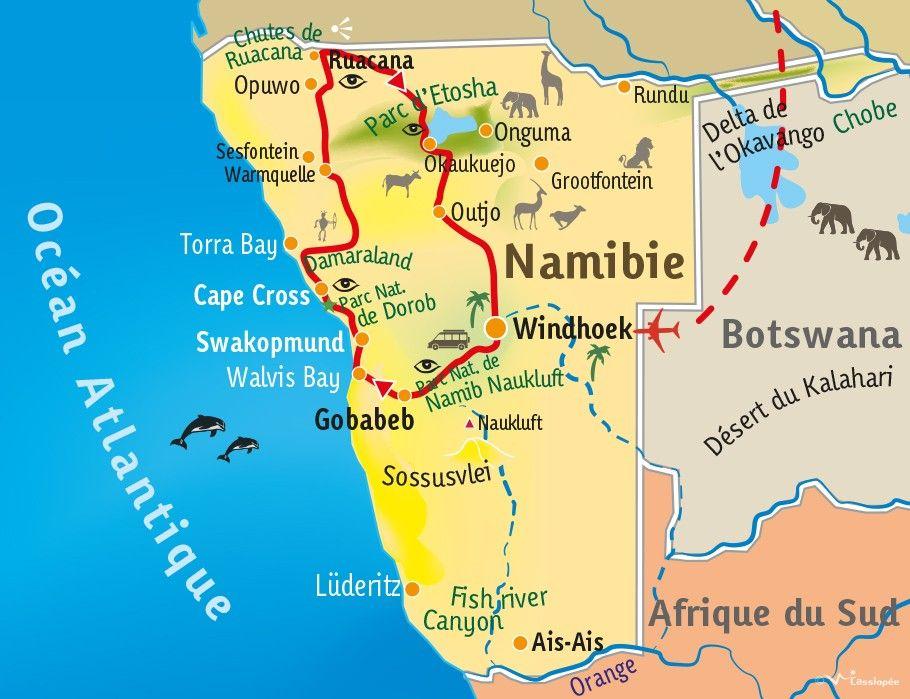 [KEY_MAP] - NAMIBIE - Au coeur de l'Afrique australe