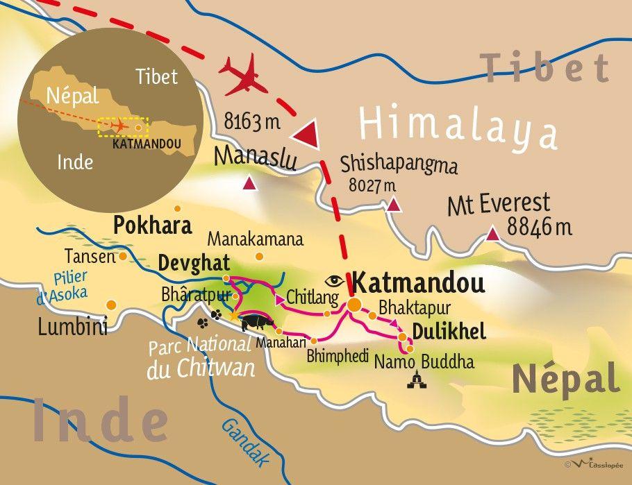 [KEY_MAP] - Népal - Balade au Népal