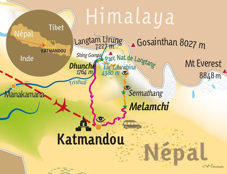 [KEY_MAP] - Népal - Les lacs sacrés de Gosainkund