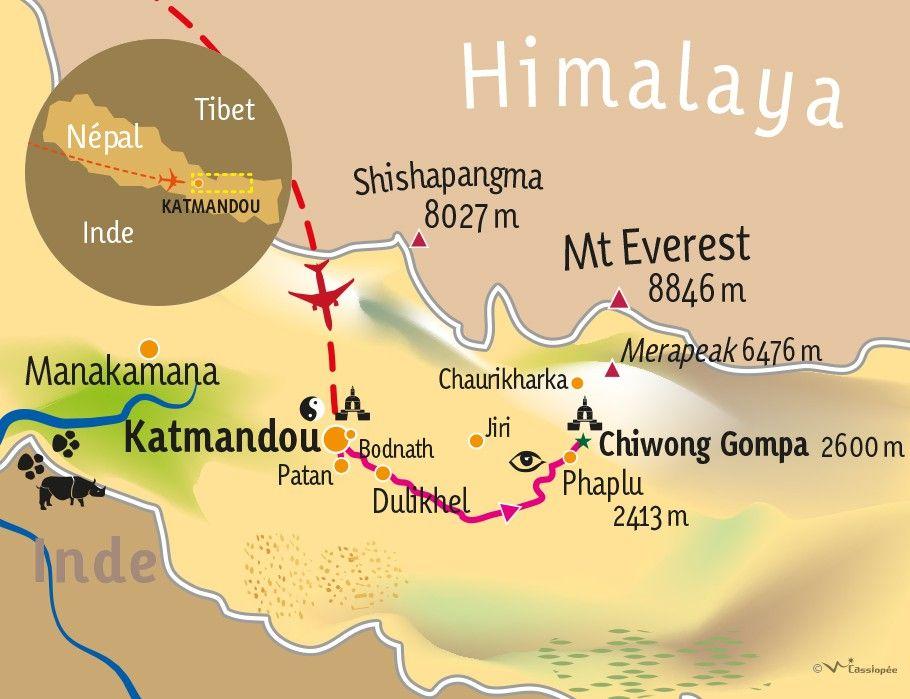 [KEY_MAP] - Népal  - Méditation et Mandala en pays Solu