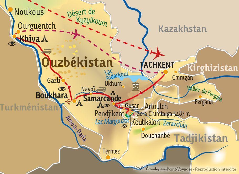 [KEY_MAP] - TADJIKISTAN/OUZBEKISTAN - Entre sommets et coupoles