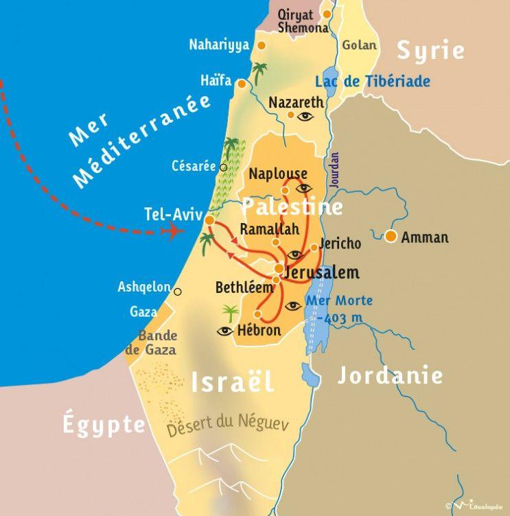 [KEY_MAP] - PALESTINE - Mieux comprendre la Palestine