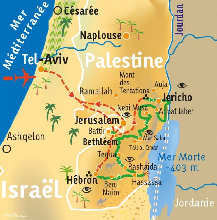 [KEY_MAP] - PALESTINE - Le Sentier d'Abraham à VTT