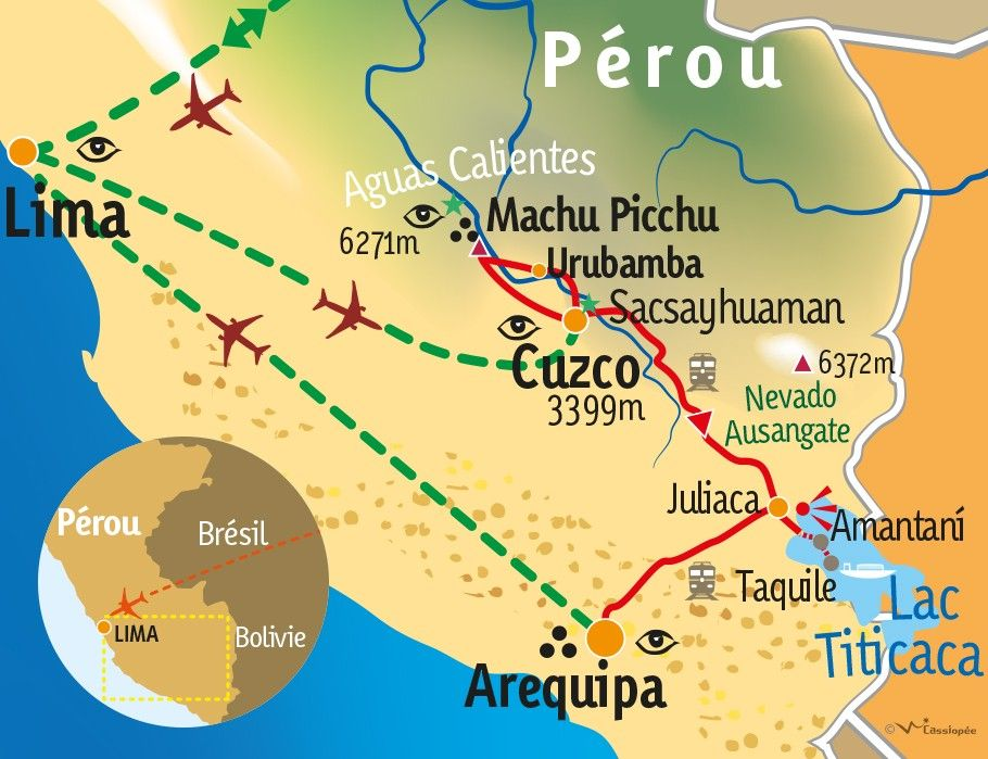 [KEY_MAP] - PEROU - Sur la piste des incas