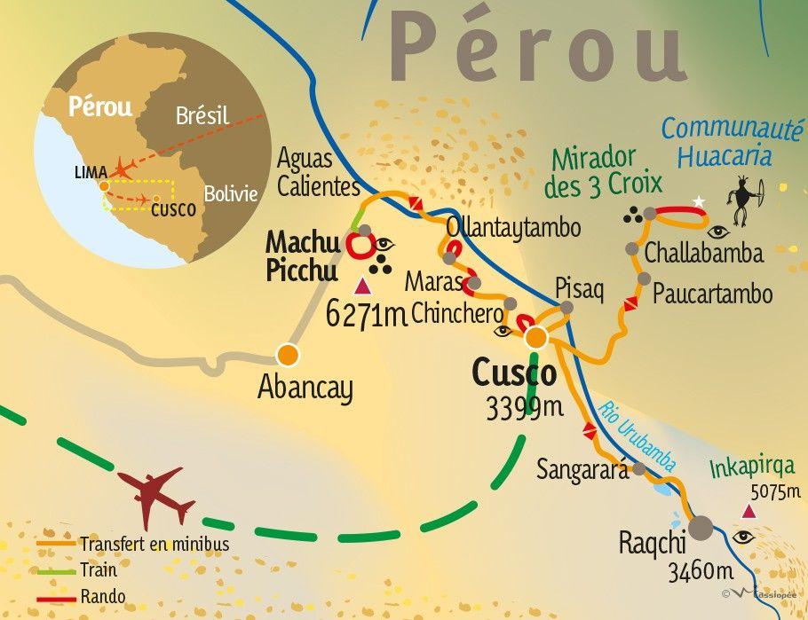 [KEY_MAP] - Pérou - Mieux comprendre les Incas et les civilisations disparues