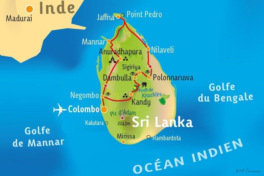[KEY_MAP] - SRI LANKA - Le Nord...