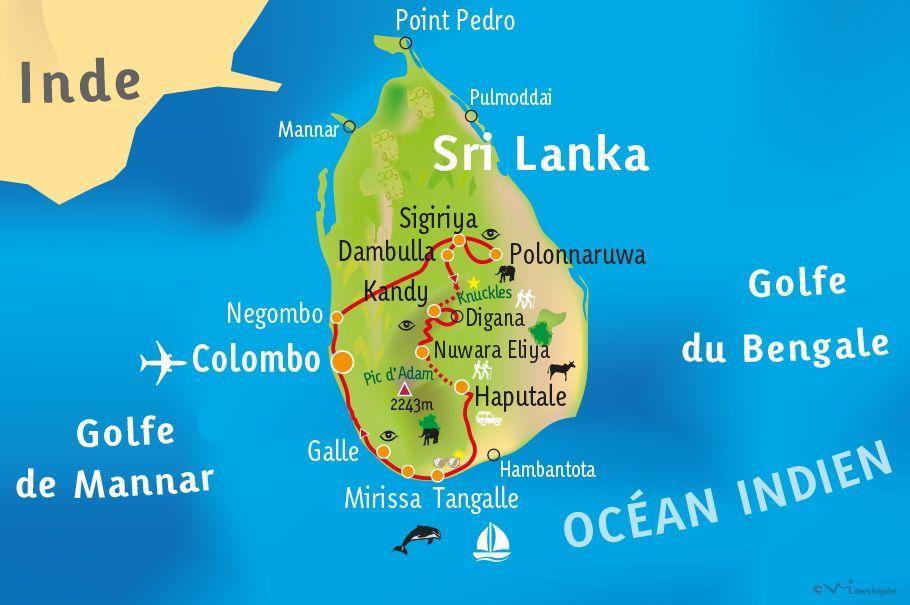 [KEY_MAP] - SRI LANKA - Evasion en terre Cinghalaise
