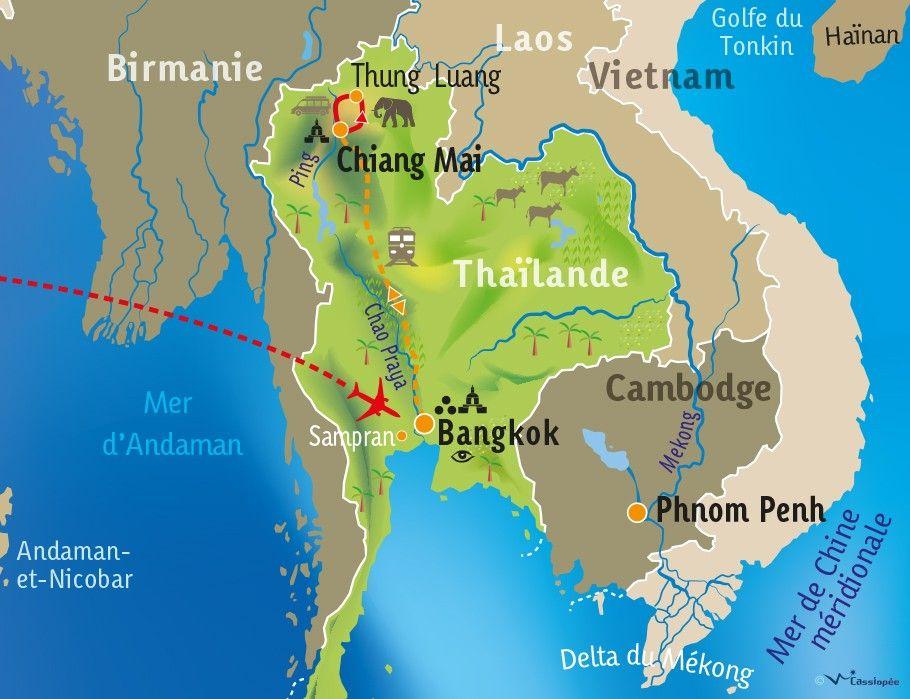 [KEY_MAP] - THAILANDE - Des hommes et des éléphants